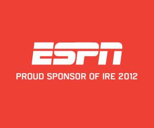 ESPN Sponsor 2012 IRE Conference Sponsor