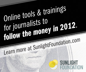 Sunlight Foundation Sponsor 2012 IRE Conference