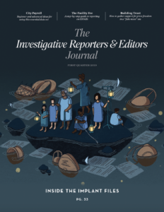 IRE Journal: Q1 2019
